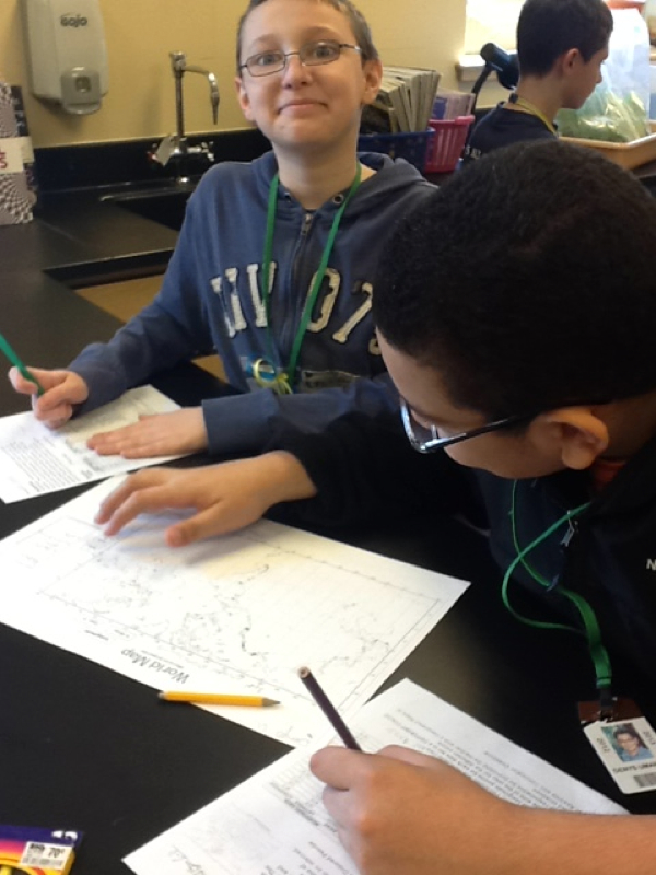 Plate tectonic activity lab
